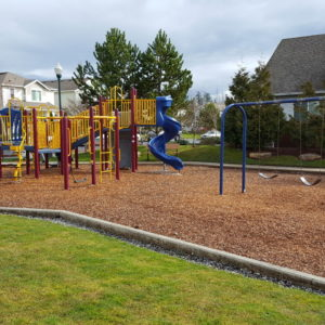 Compact, Neighborhood Playground with Swings gallery thumbnail