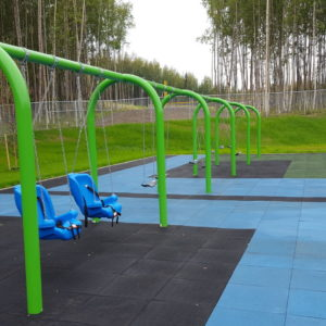 Bright Elementary School Playground with Swings in Wasilla, WA gallery thumbnail