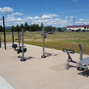 Outdoor Fitness Park in Liberty Lake, Washington gallery thumbnail