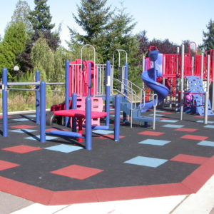 Bright, Colorful School Playground in Renton, Washington gallery thumbnail