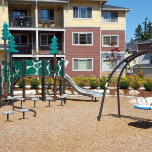 Community Playground with Tree Toppers and Swings gallery thumbnail