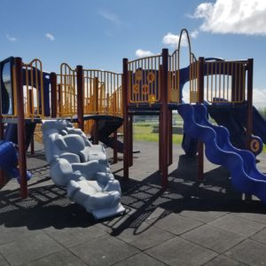 Colorful Playground with Slides and Climbers in Alaska gallery thumbnail