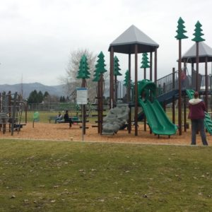Park Playground with Natural Elements and Outdoor Fitness Station gallery thumbnail